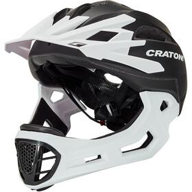 Cratoni C-Maniac Casco Per Freeride, black/white matte